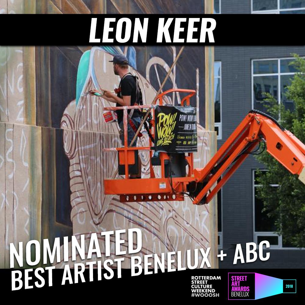 Best Artist Leon Keer