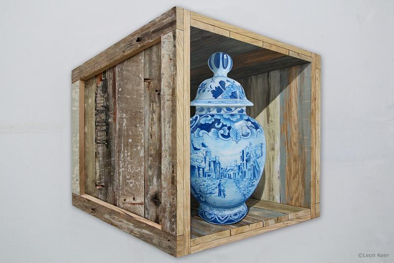 Heritage 3D painting by Leon Keer