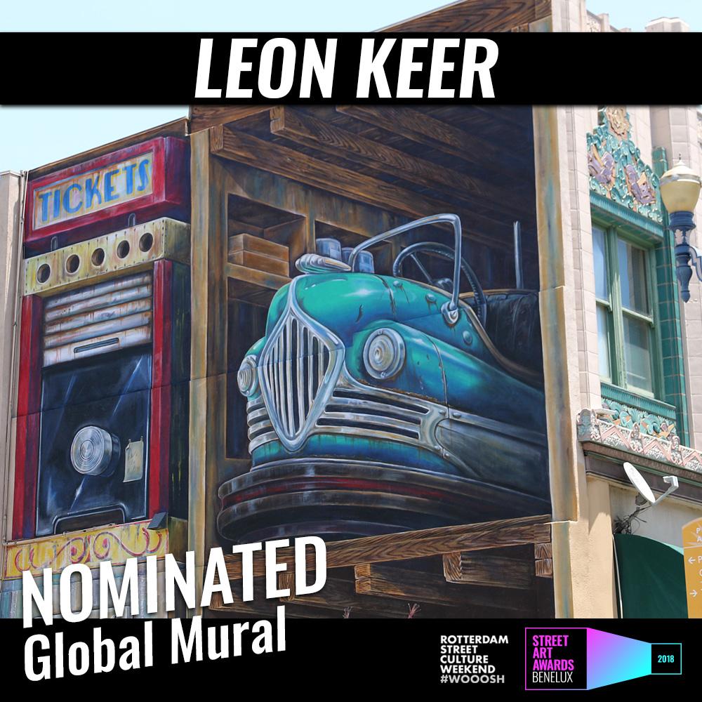Global Mural Leon Keer