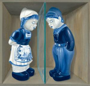 Jan & Grietje by Leon Keer