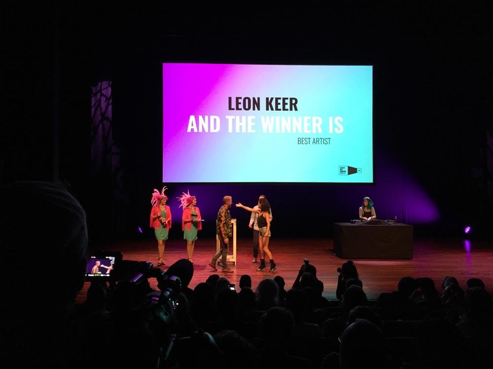 Leon Keer winner best artist streetartaward