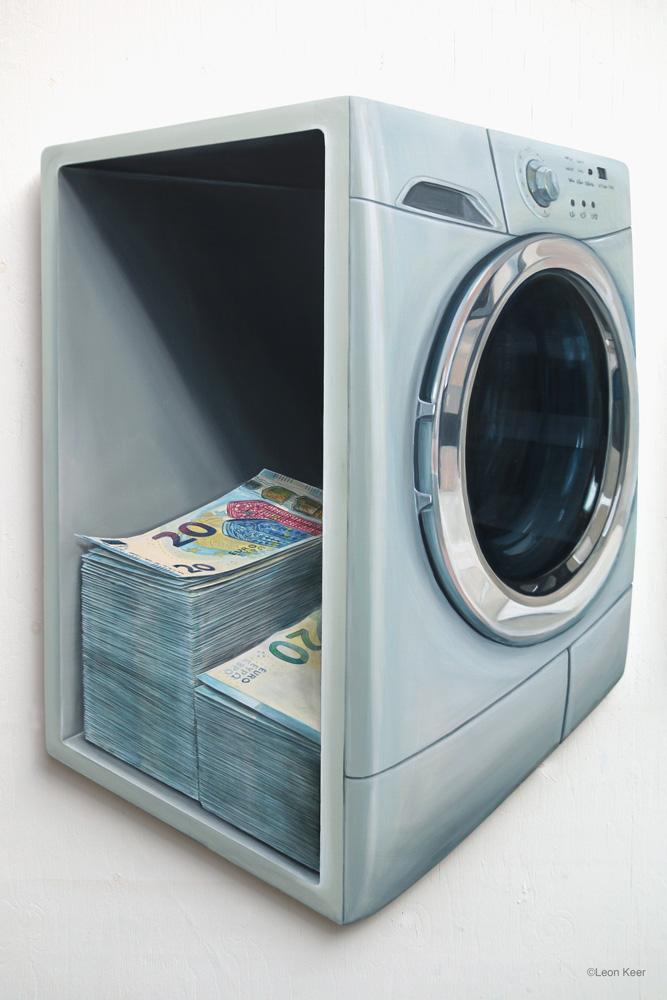 Money Laundrette by Leon Keer