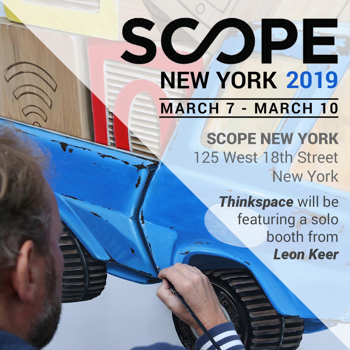 Scope New York Thinkspace Leon Keer