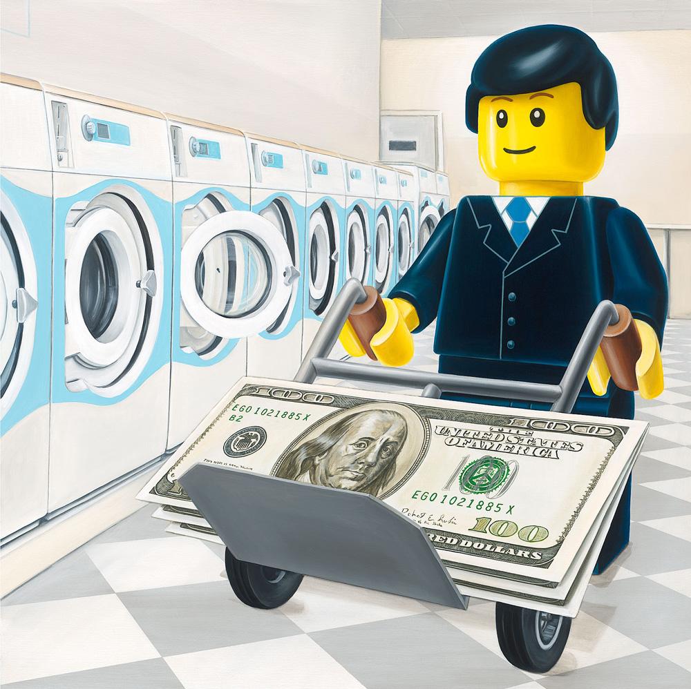 The Money Laundrette - Ego Leonard