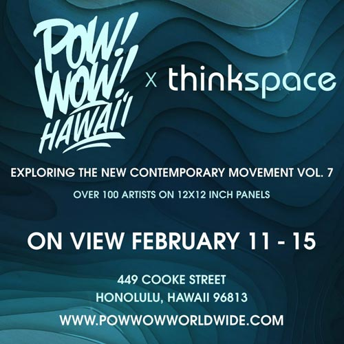 Thinkspace-Pow-Wow-Hawaii Leon Keer