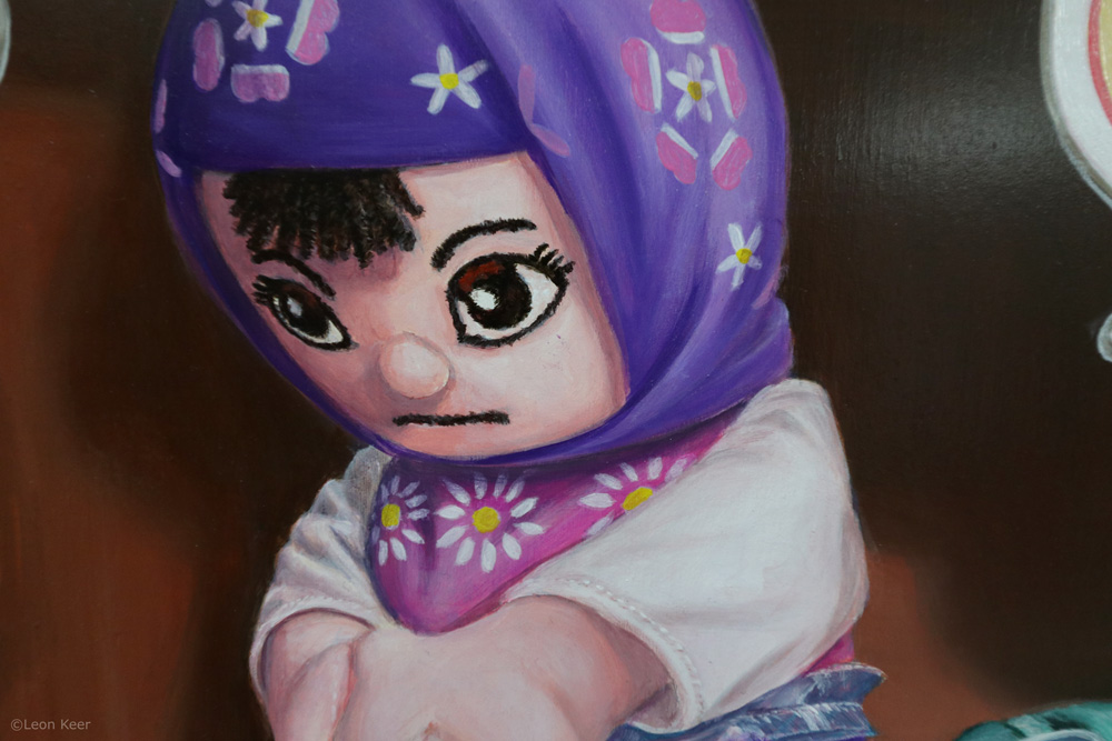 detail-Refugee-doll-by-leonkeer-painting