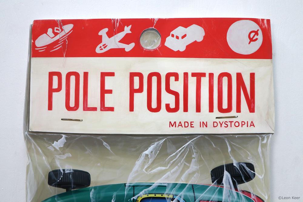 Pole Position art by Leon Keer