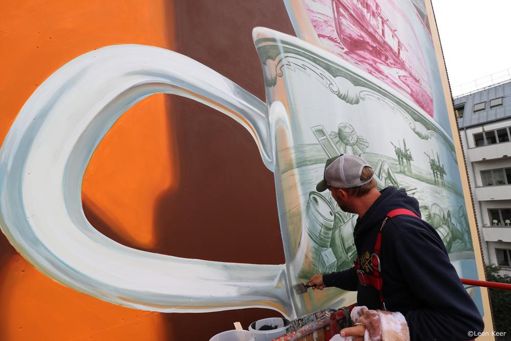 Leon Keer 3D Mural Helsingborg AR