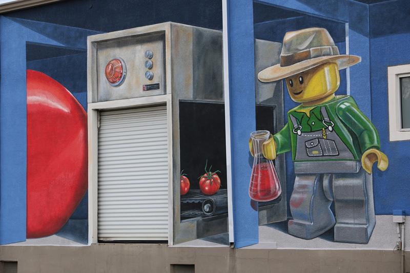 Mural 3d Fertilizer Streetart Leon Keer 3d Street Artist 3d
