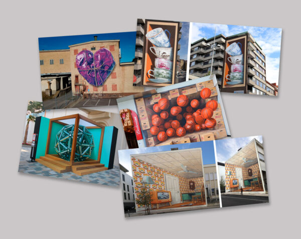 Postcards by Leon Keer with Augmented Reality