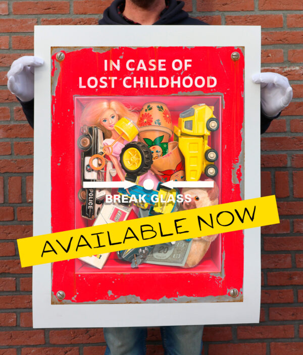 New print release: 'In case of lost childhood…'